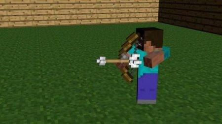 Как стрелять из лука в Minecraft