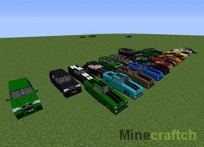 Видео гайд: Делаем машину в Minecraft