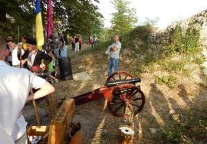 Фестиваль пушек в Галичском замке