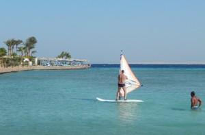 Это я на серфинге в Египте