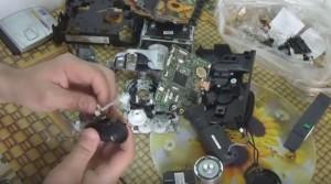 Начинка старой видеокамеры