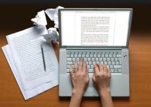 Рерайт с ноутбука